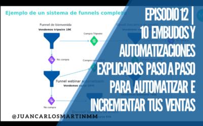 Episodio 12  10 Embudos y Automatizaciones Explicados Paso a Paso para Automatizar e Incrementar tus Ventas